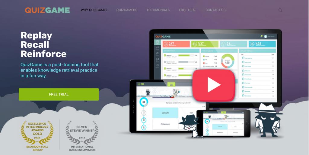 Công cụ thiết kế nội dung tương tác - Quizgame